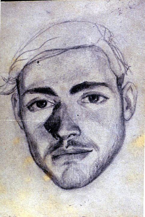 Disegni di Brancaleone Cugusi da Romana: Ritratto del fratello Guglielmo