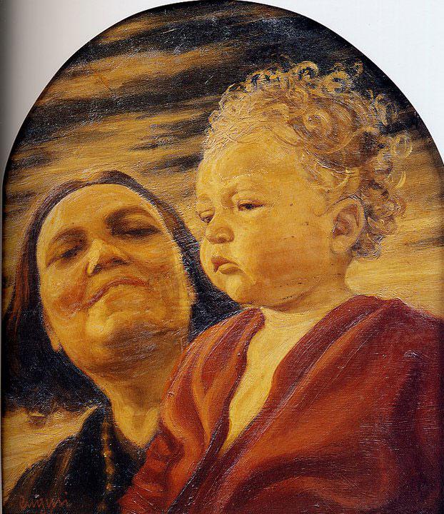 Opere di Brancaleone Cugusi da Romana: Vera e la madre (1930-1931)