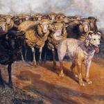 Opere di Brancaleone Cugusi da Romana: L'ombra del pastore (1932-1934 circa)