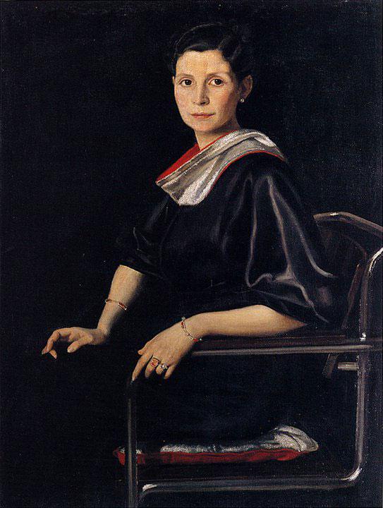 Opere di Brancaleone Cugusi da Romana: Ritratto della cognata Cesira (1935)