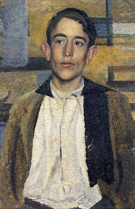 Opere di Brancaleone Cugusi da Romana: Ritratto di giovane (1935-1936)