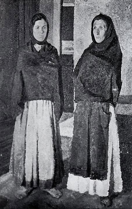 Opere di Brancaleone Cugusi da Romana: Due donne (1936)