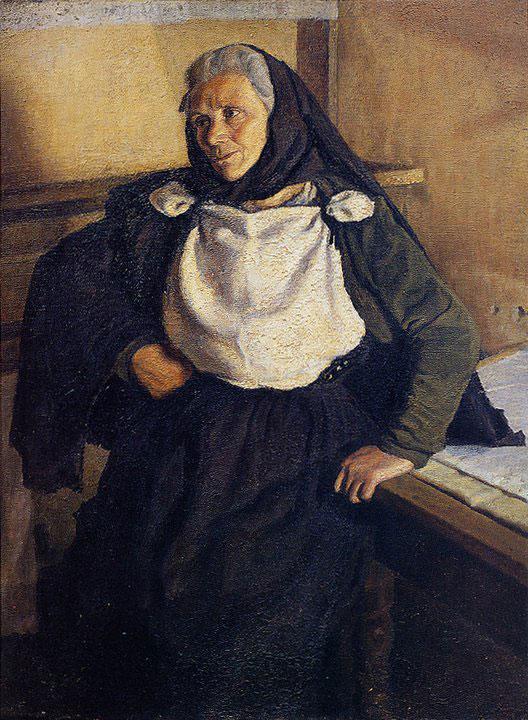 Opere di Brancaleone Cugusi da Romana: Vecchia sarda (1936-1937)