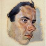 Opere di Brancaleone Cugusi da Romana: Studio per ritratto di giovane