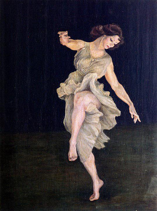 Opere di Brancaleone Cugusi da Romana: La danzatrice (1932-1933)
