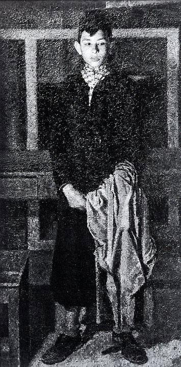 Opere di Brancaleone Cugusi da Romana: Ragazzo in nero (1940-1941)