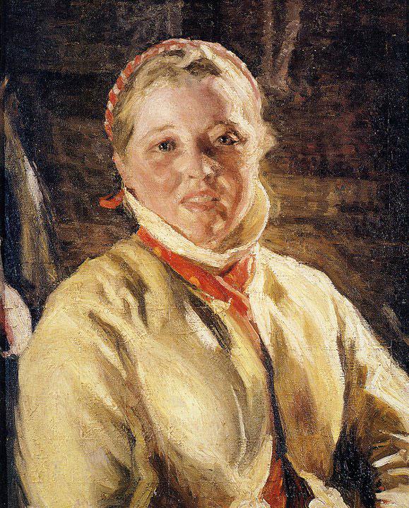 Opere di Brancaleone Cugusi da Romana: Ritratto di ragazza (1933-1934)