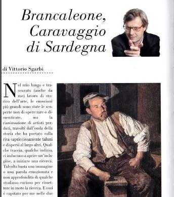 Art critic Vittorio Sgarbi says: Brancaleone is Caravaggio of Sardinia