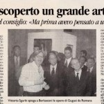 Silvio Berlusconi discovered Brancaleone Cugusi da Romana