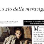 Memories and search of Brancaleone's nephew and biographer. By Francesco Leone Cugusi: Lo zio delle meraviglie, (Uncle of wonders)